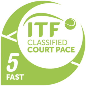 International Tennis Federation Classified Court Pace 5 Fast