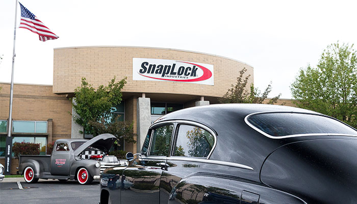 Goodguys road tour visits SnapLock facility.