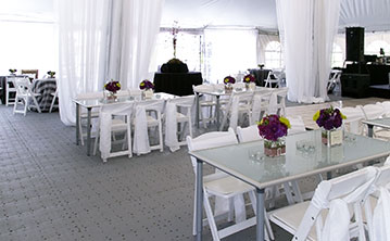 Tent event on FastDeck