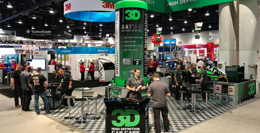 3D Products SEMA Booth